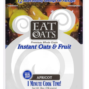 eat oats food pouch packaging